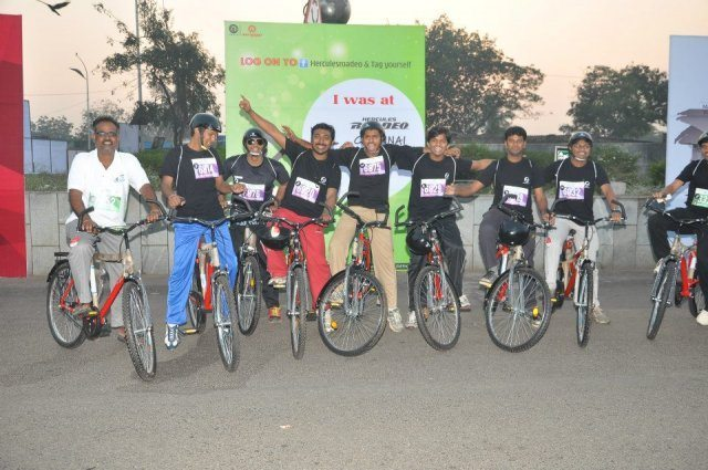 Hercules Roadeo Chennai Cycling 2013
